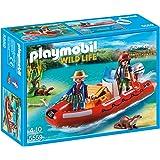 Playmobil - 5559 - Braconniers avec bateau