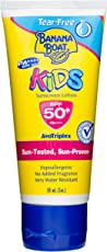 banana boat Kids Water Resistant Tear Free 50+ Sunscreen Lotion, 90ml