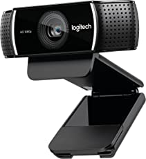 Logitech C922x Pro Stream 1080p Webcam for HD Video Streaming Recording At 60Fps