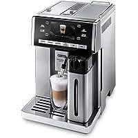 De'Longhi PrimaDonna ESAM 6900.M Kaffeevollautomat mit Milchsystem, Cappuccino und Espresso auf Knopfdruck, 4,6 Zoll TFT…