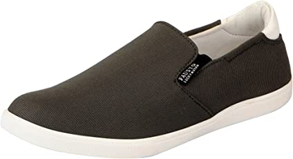 FAUSTO Men's Canvas and Loafer Shoes