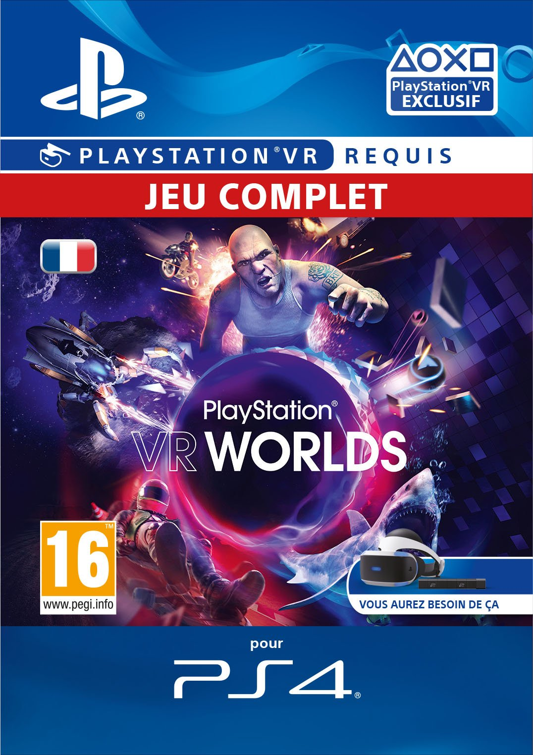 VR Worlds – PlayStation VR