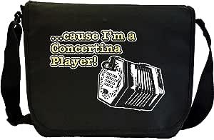 Concertina Cause - Sheet Music Document Bag Sacoche de Musique MusicaliTee