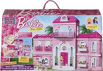 Mega Bloks 80229 - Barbie - Build 'n Style Luxus Villa
