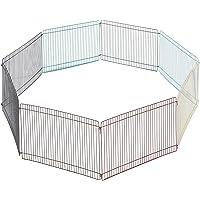 Kerbl 82700 Freigehege für Hamster, Mäuse, Kleintiere, 8 Elemente 34 x 23 cm