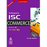 S Chand's ISC Commerce -Volume II(for Class-XII)