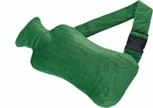 Wärmflaschengürtel - Wärmflasche zum Umschnallen mit Bezug - gezieltes Bekämpfen von Schmerzen in Rücken, Nieren, Magen oder Regelschmerzen