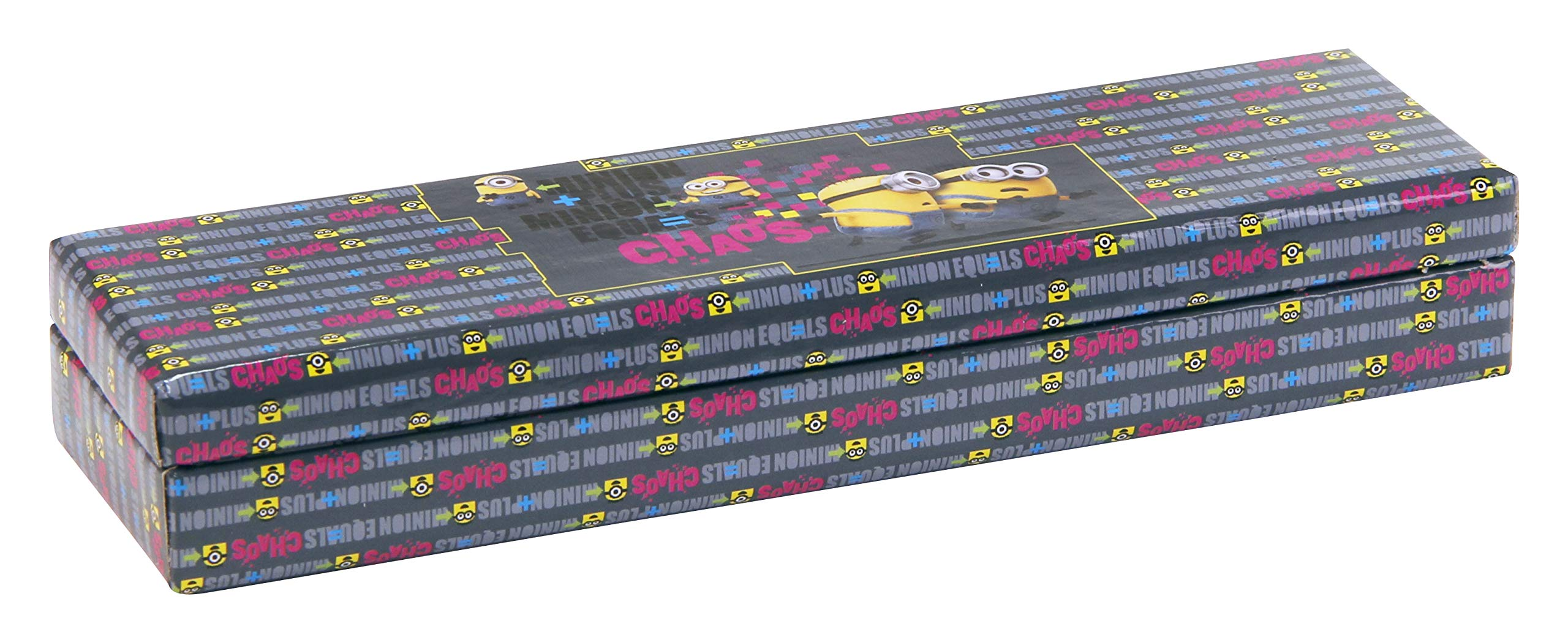 Clairefontaine 812740 C – Plumier cartón Minions tamaño 21 X 5, 5 x 3 cm Chaos