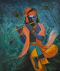 Krishna (Mixed Media by Mitali Doshi)