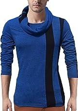Seven Rocks Men's Cotton Muffler Neck T-Shirt