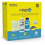 Etelec MP0100 MP0100 siliconen isolatiegel, 1 liter, 2 flessen 500 ml + 1 liter karaf