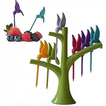Maniar International Humming Bird Fruit Fork Set