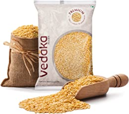 Amazon Brand - Vedaka Premium Moong Dal (Yellow), 1 kg