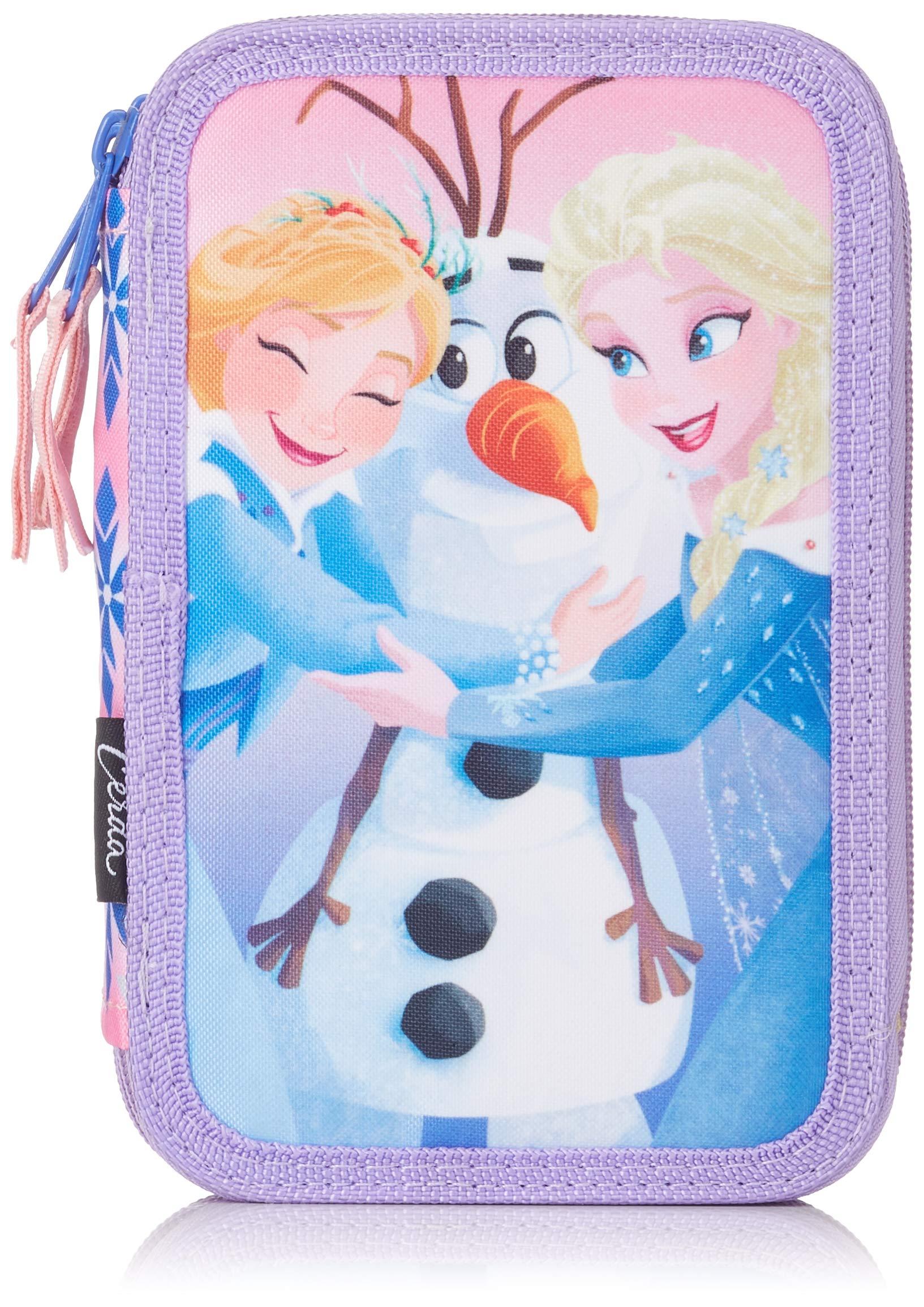 Disney-2700000245 Frozen Plumier,, 19 cm (Artesanía Cerdá CD-27-0245)