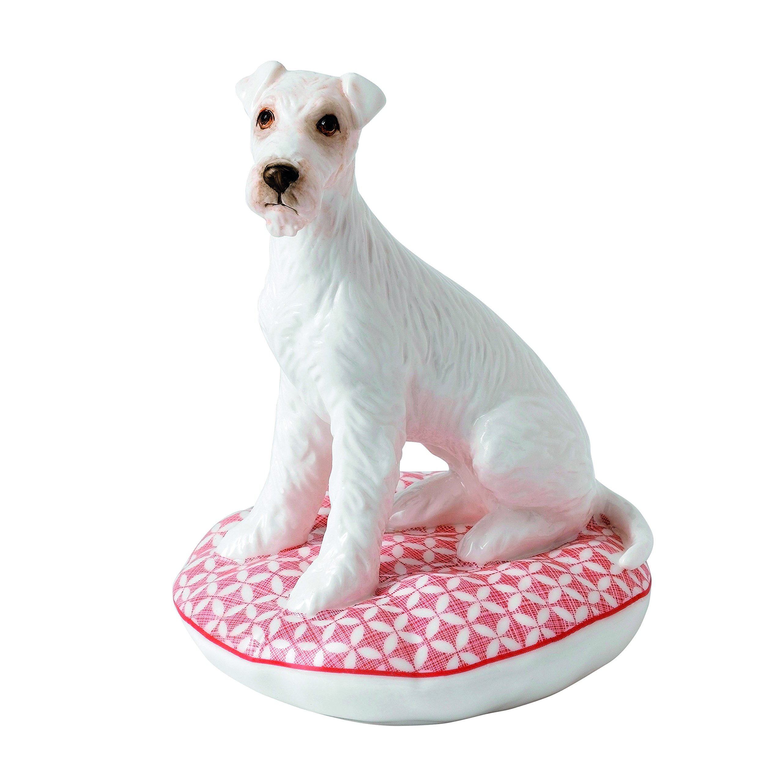 Royal Doulton Top Dogs Bobo-Airedale Terrier, Porcelain, White, 14.5