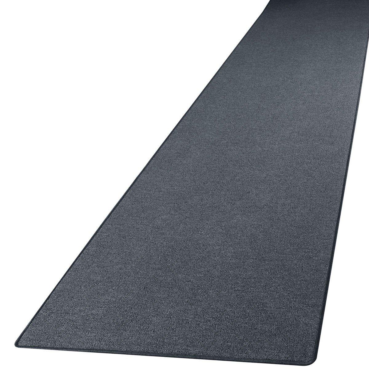 Läufer teppich  Schlingen Teppich Läufer Torronto Anthrazit nach Maß ...