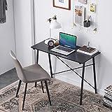 HJhomeheart Bureau d'écriture de Coiffeuse à Domicile, Bureau d'ordinateur adapté aux postes de Travail de Petit Espace, Faci
