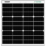 LOOM SOLAR Panel 75 watt - 12 Volt Mono PERC (Single Panel)