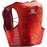 Salomon Active Skin 8 set vest, 8 l, uniseks, 2 x zachte flessen, inclusief trailrunning, wandelen