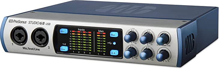 Presonus STUDIO 68 Ultra High Definition USB Recording System