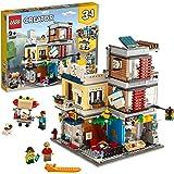 LEGOCreatorNegoziodegliAnimali&Café3in1,SetdiMattonciniGiocattolocon3Minifigure,FiguredelCane,delTucano
