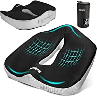 osso sacro e sciatica Per ufficio NewMum cuscini per sedie per il coccige ergonomico in memory foam per zona lombare casa sedia a rotelle auto
