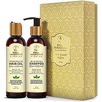 Hair Sanjeevani - Hair Growth Regime Combo Kit with Ancient Vedic & Modern Herbs - Contains Onion Oil, Argan, Jojoba…