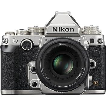 Nikon 1528 DF 16.2 MP CMOS FX-Format Digital SLR Camera (Black) with AF-S Nikkor 50mm f/1.8G Lens, 4GB Card and Camera Bag