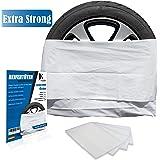 JK Trade® EXTRA Sterke 4-Delige Premium Bandenzakset voor het opbergen van uw autobanden, Bandenzakset, Velgenzak, past op 16