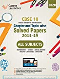 CBSE Class X 2020 - Chapter and Topic-wise Solved Papers 2011-2019 : Mathematics | Science | Social Science | English…