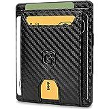 GenTo® FLAPLET II Magic Wallet - Protección RFID - Billetera mágica - Billetera mágica con un Gran Compartimento para Monedas