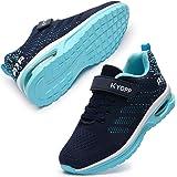 Kyopp Zapatillas Deportivas Niño Niña Transpirables Zapatillas de Running Antideslizante Zapatos de Deporte Casual Sneakers V