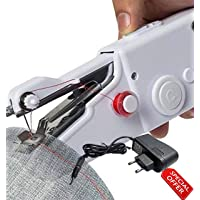 Akiara Electric Sewing Machines for Home Mini Silai Machine (with Power Adapter) White
