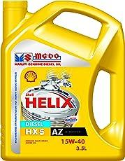 Shell Helix HX5 550039975 15W-40 API SN Premium Car Engine Oil (3.5 L)