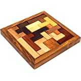 WIGANO Wooden 3D Wooden Jigsaw Puzzle - Wooden Toys/Games for Kids Puzzles Pedagogical Board Brain Teaser Games