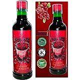 Truedreamall Cranberry Juice- Helpful in UTI, PCOD, Premium Quality, Unsweetened, Pure & Organic, Real & Fresh Cranberry Juic