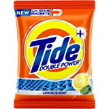 Tide Plus Detergent Washing Powder with double Power Lemon and Mint Pack - 1 kg