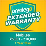 Onsitego 1 Year Extended Warranty for Mobiles (Rs. 5,001 to 10,000) for B2B (Email Delivery in 2 Hours)