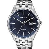 Citizen Reloj Analógico para Hombre de Cuarzo con Correa en Acero Inoxidable BM7251-53L