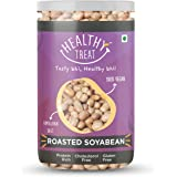 Healthy Treat Roasted Soyabean - Protein Rich 200 gm I Oil-Free, Roasted, Ready-To-Eat Snack I High In Protein, Fibre & Carbs