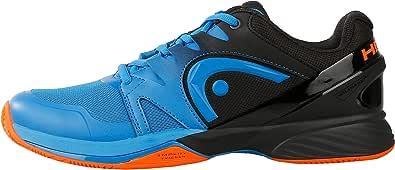 HEAD Zapatillas Hombre Prestige Ltd Clay Negro/Azul 273619