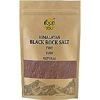 Food 4 You Himalayan Black Rock Salt Fine Pouch, 500 g