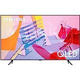تلفزيون سامسونج 55 بوصة ذكي كيو ليد، شاشة مسطحة، معالج 4 كيه، ذكاء اصطناعي، معدل حركة 100+، بي كيو اي 3100، كوانتوم اتش دي ار