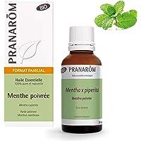 Pranarôm - Huile Essentielle de Menthe Poivrée Bio - Partie Aérienne - Format Familial - 30 ml