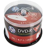 HP DVD-R IJ Print 16X 50PK Caja HP 4.7GB