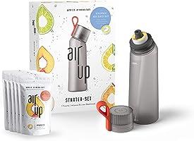 air up Starter-Set (1x BPA freie Trinkflasche 650 ml + 5x Duft-Pods für insgesamt 25 Liter Geschmack in den...