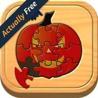 Les enfants Halloween casse-tête logique et des jeux de mémoire pour les enfants d'âge préscolaire