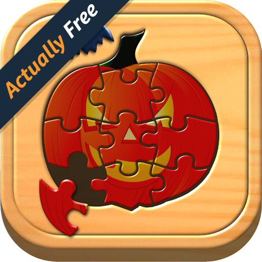 Kinder Halloween Jigsaw Puzzle Logik und Memory-Spiele für Kinder im Vorschulalter (Santa Für Halloween)