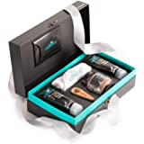 mCaffeine Coffee Moment Skin Care Gift Set | Signature Face and Body Kit in Premium Box | Pack of 5 | For Men and Women | Diw