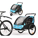 Fiximaster BT502 - Portabici girevole a 360° per bambini, con maniglia freno e ruota protettore
